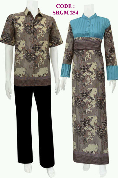 Model Pakaian Batik Gamis Vega Code Srgm 25