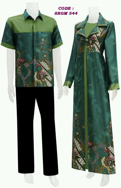Model Jubah Batik Holidays Oo