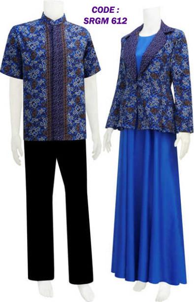 Koleksi Batik Gamis Model Bolero Lepasan Code Srgm 61